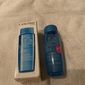 Lancôme double action eye makeup remover.